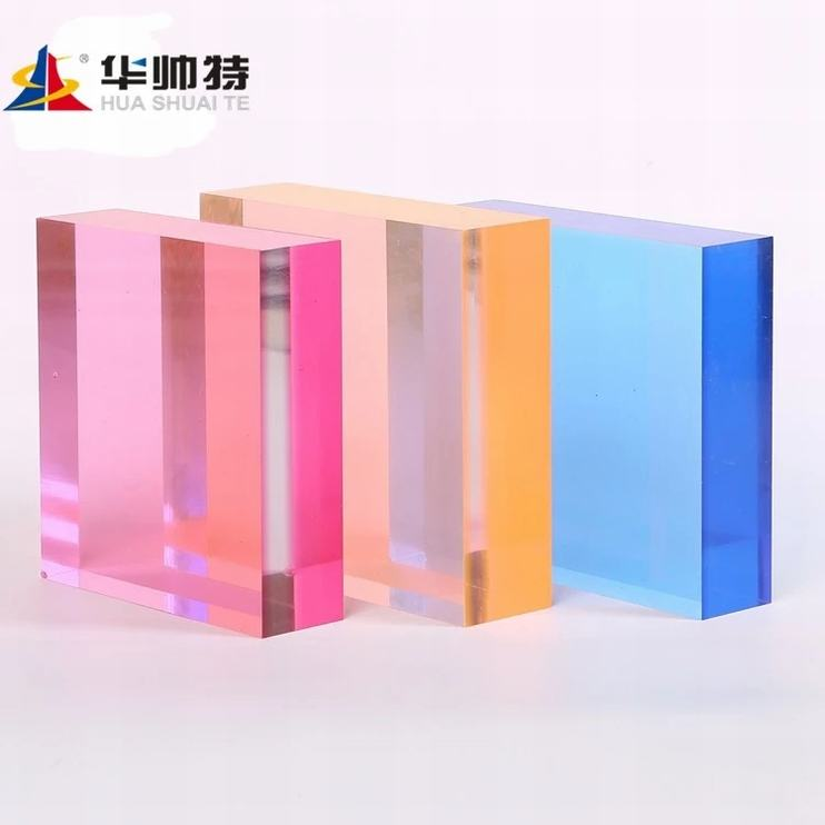 Wholesale Clear and tinted laser cut customize size and package Acrylic sheet